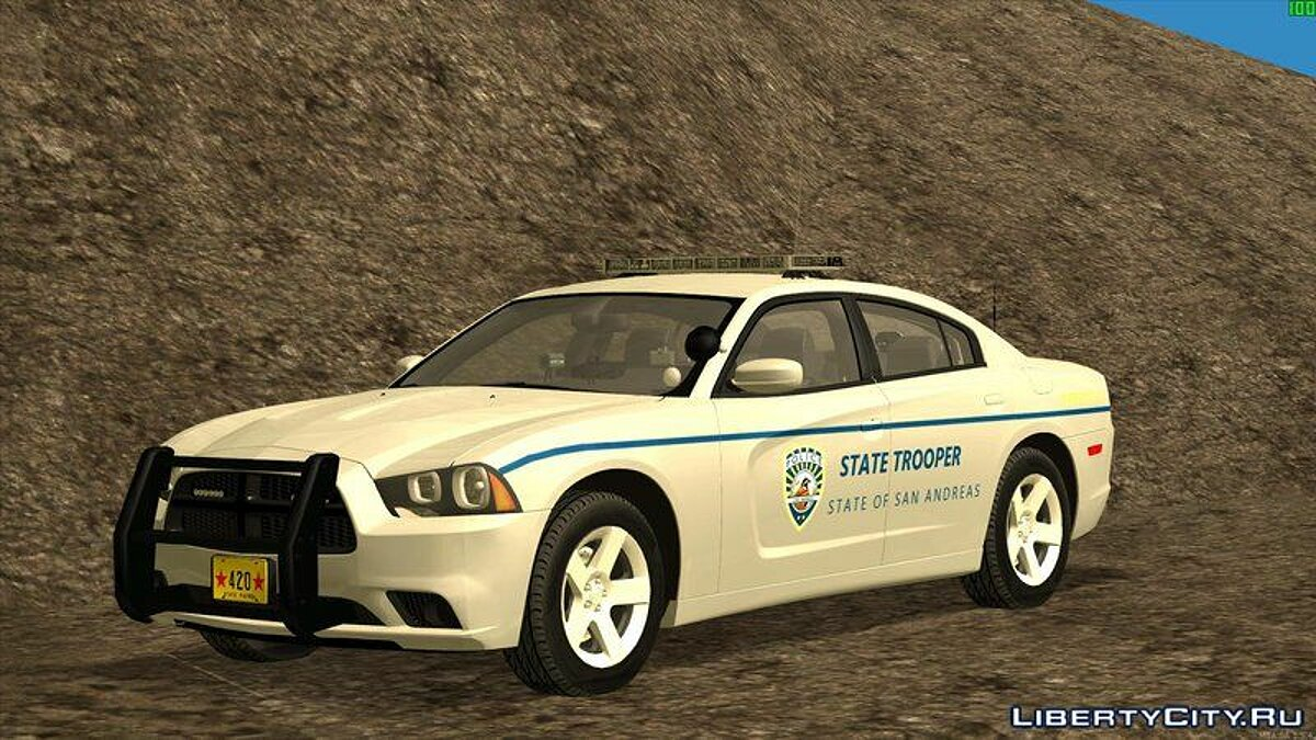��ашина полиции 2013 Dodge Charger San Andreas State Troopers для GTA San Andreas