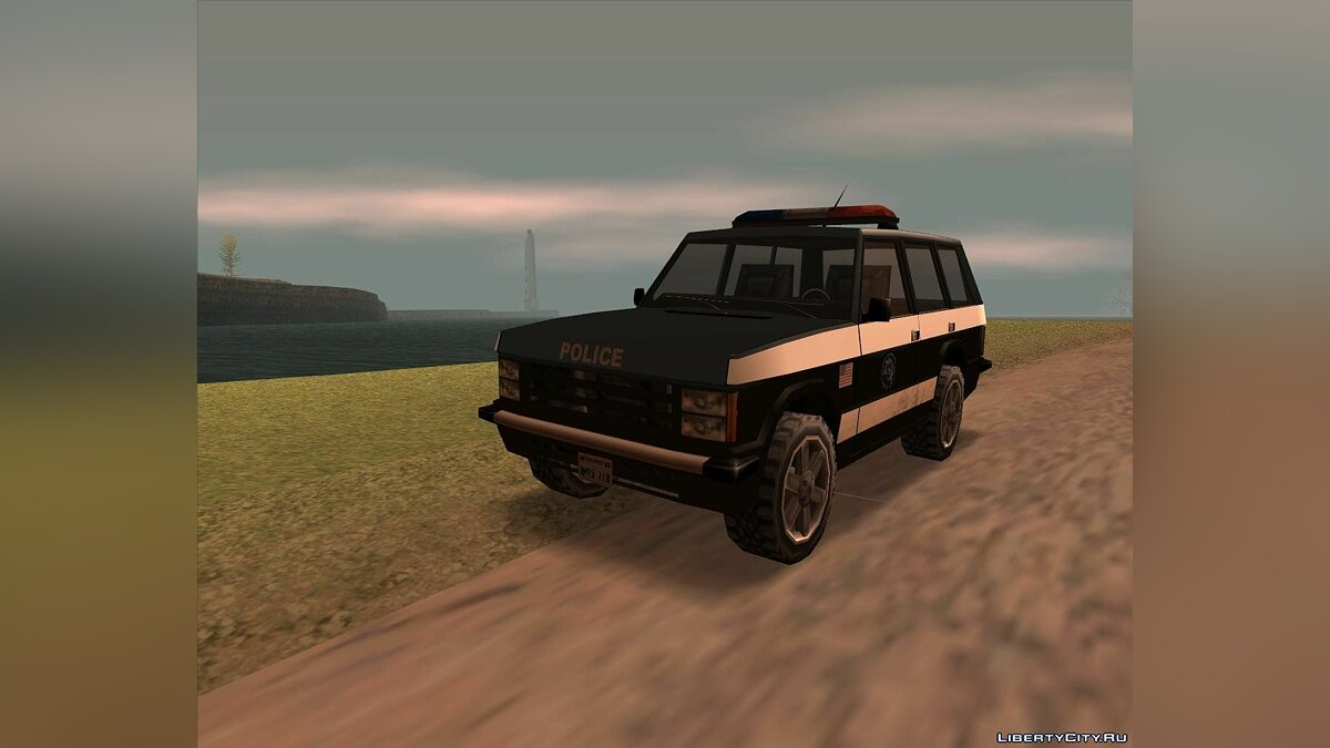Huntley Police Suv для GTA San Andreas - скриншот #2
