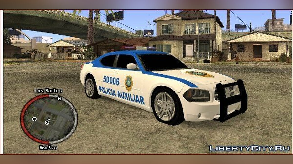 Dodge Charger STR8 Police для GTA San Andreas