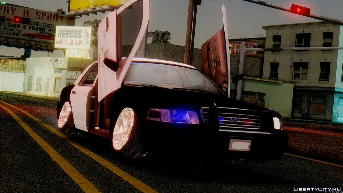 Crown Victoria Police Stance для GTA San Andreas