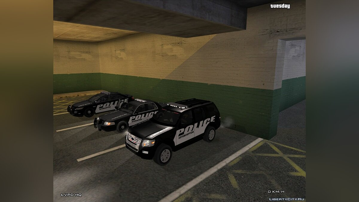 Police Interceptor Pack для GTA San Andreas
