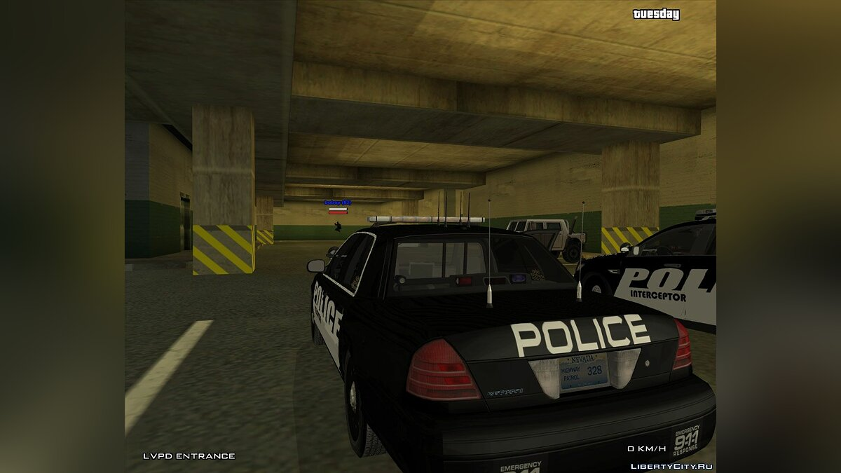 Police Interceptor Pack для GTA San Andreas - скриншот #3