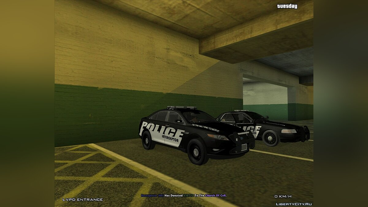 Police Interceptor Pack для GTA San Andreas - скриншот #2
