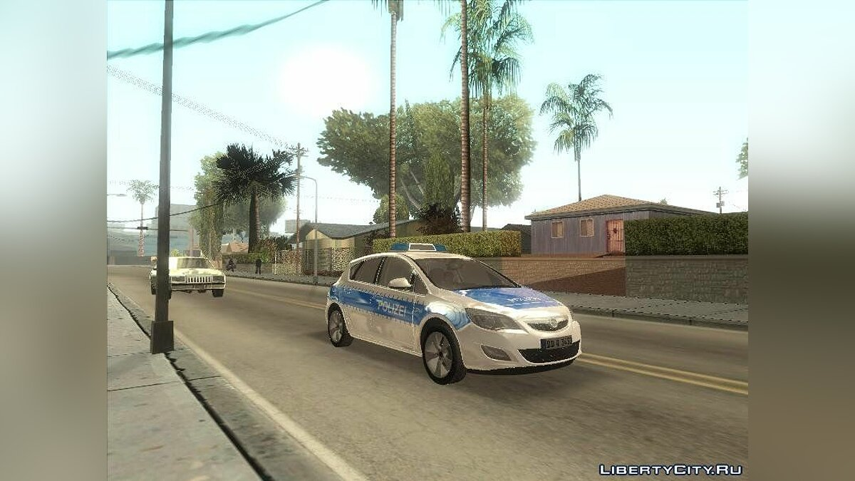 2011 Opel Astra Tourer - German Polie для GTA San Andreas