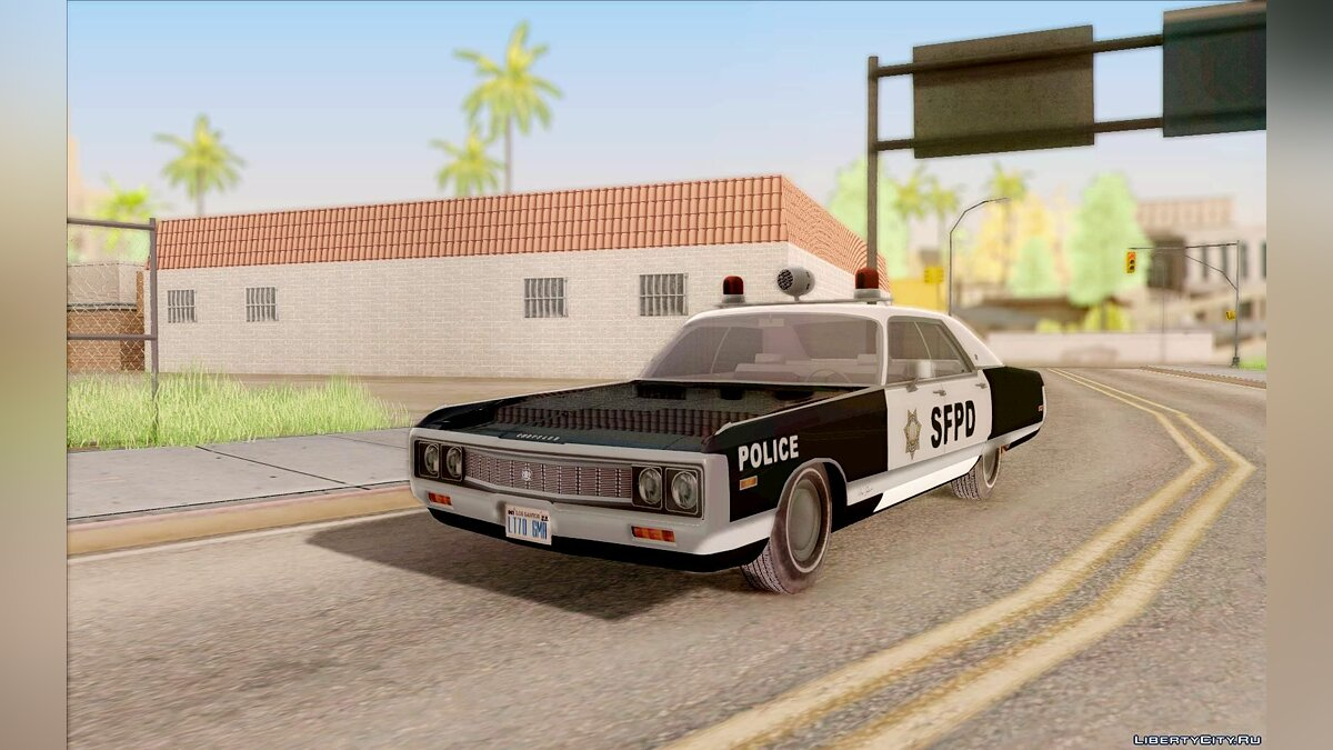 Chrysler New Yorker Police 1971 для GTA San Andreas