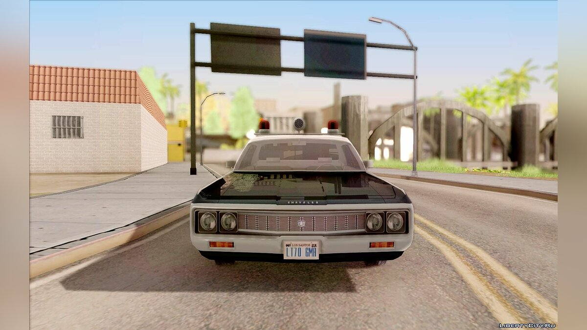 Chrysler New Yorker Police 1971 для GTA San Andreas - скриншот #3