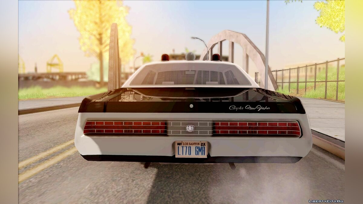 Chrysler New Yorker Police 1971 для GTA San Andreas - скриншот #6