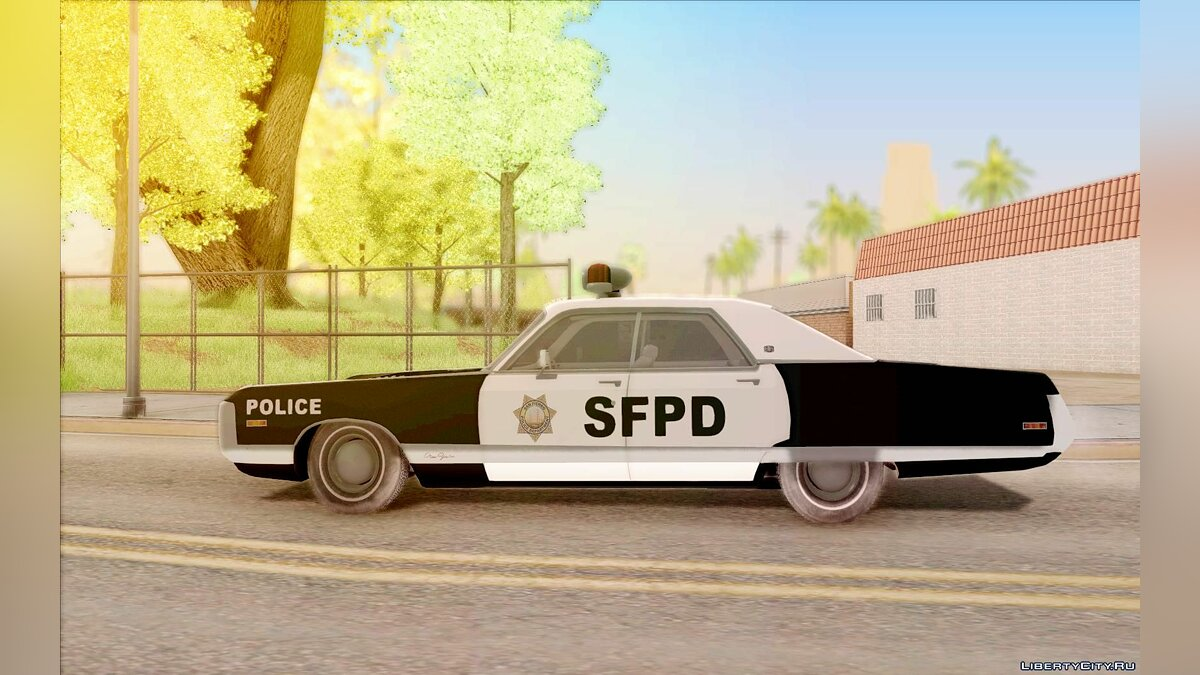 Chrysler New Yorker Police 1971 для GTA San Andreas - скриншот #8