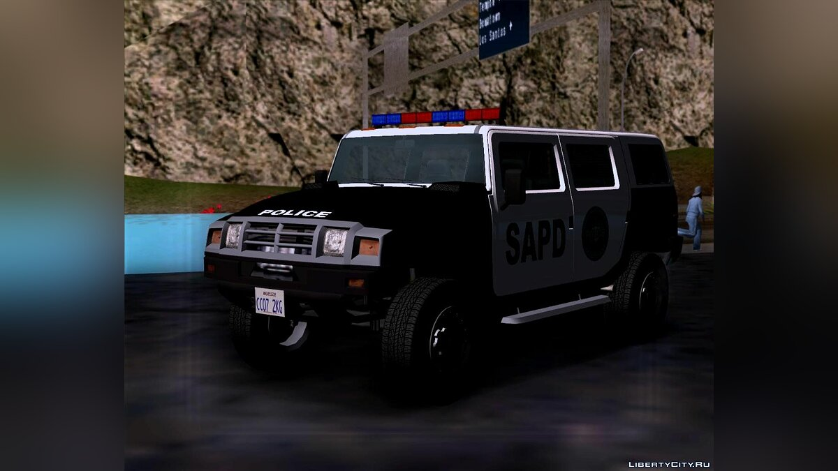 Mammoth Patriot San Andreas Police SUV для GTA San Andreas