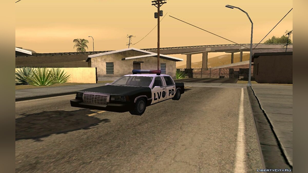 MiniStretch LV Cop для GTA San Andreas