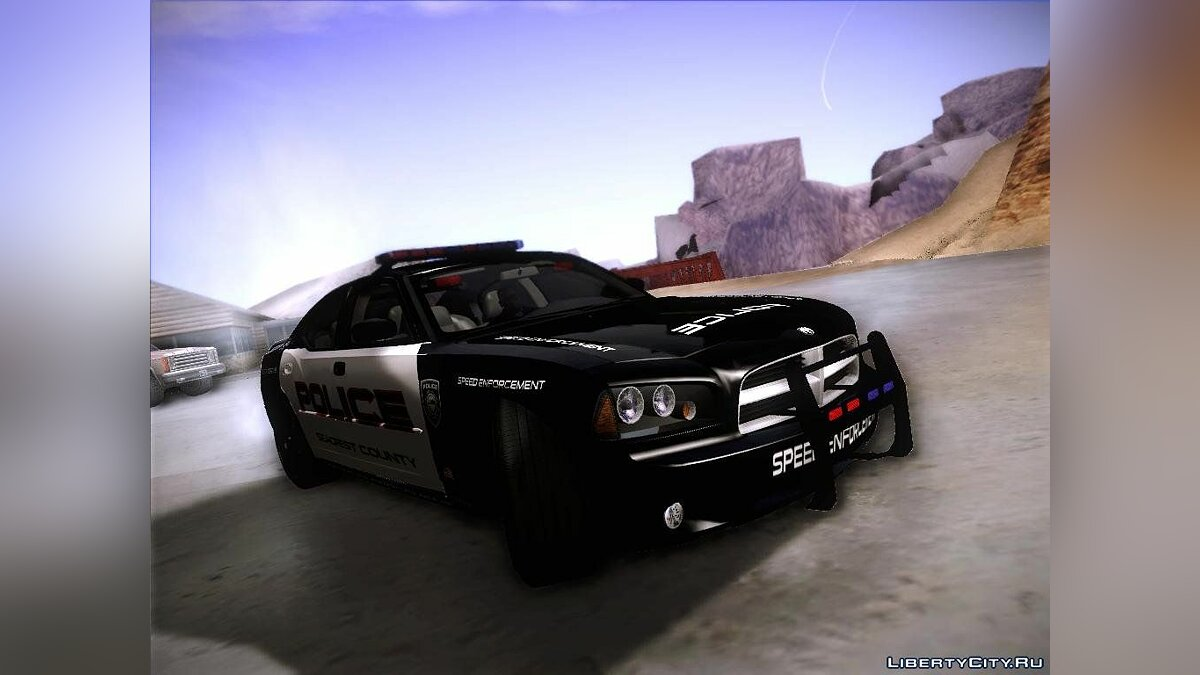 Dodge Charger RT Police Speed Enforcement для GTA San Andreas - скриншот #2