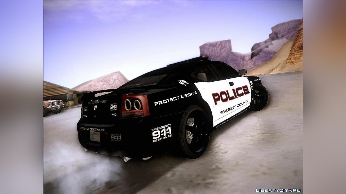 Dodge Charger RT Police Speed Enforcement для GTA San Andreas - скриншот #3