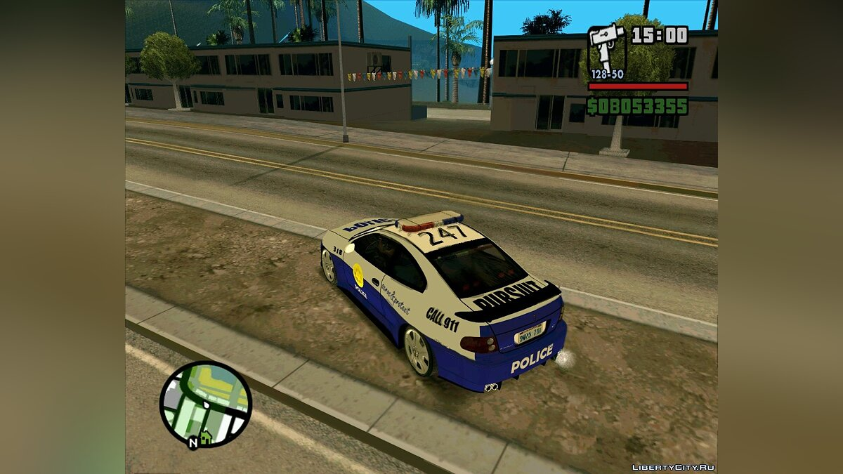 Pursuit Edition Police Pack для GTA San Andreas