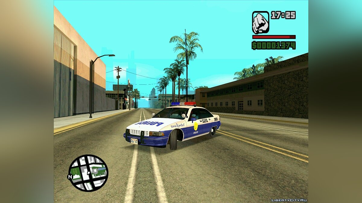 Pursuit Edition Police Pack для GTA San Andreas - скриншот #8