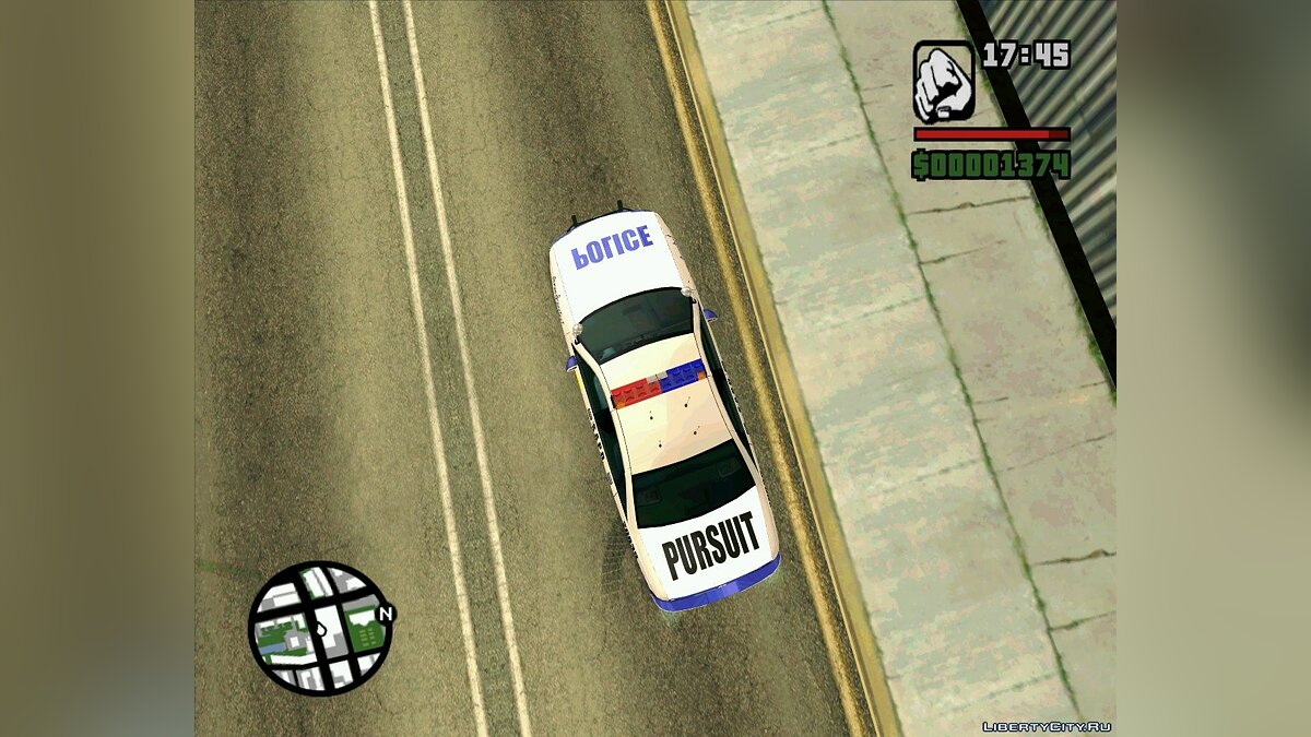 Pursuit Edition Police Pack для GTA San Andreas - скриншот #9