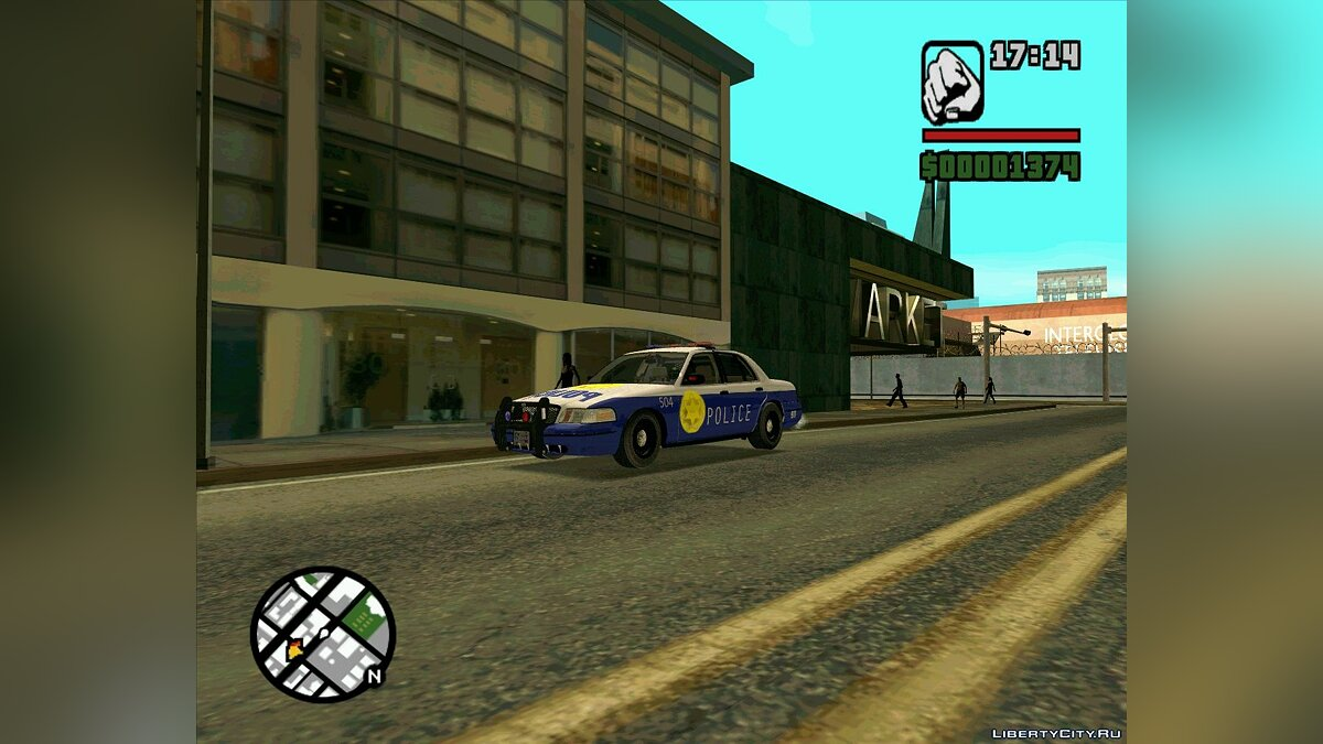 Pursuit Edition Police Pack для GTA San Andreas - скриншот #4