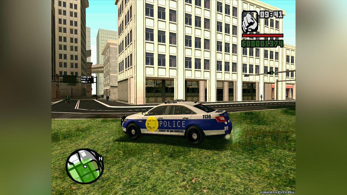 Pursuit Edition Police Pack для GTA San Andreas - скриншот #3