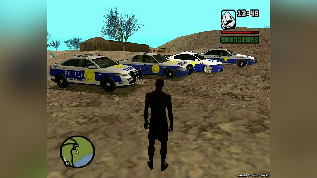 Pursuit Edition Police Pack для GTA San Andreas - скриншот #7
