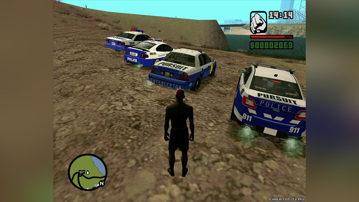 Pursuit Edition Police Pack для GTA San Andreas - скриншот #6