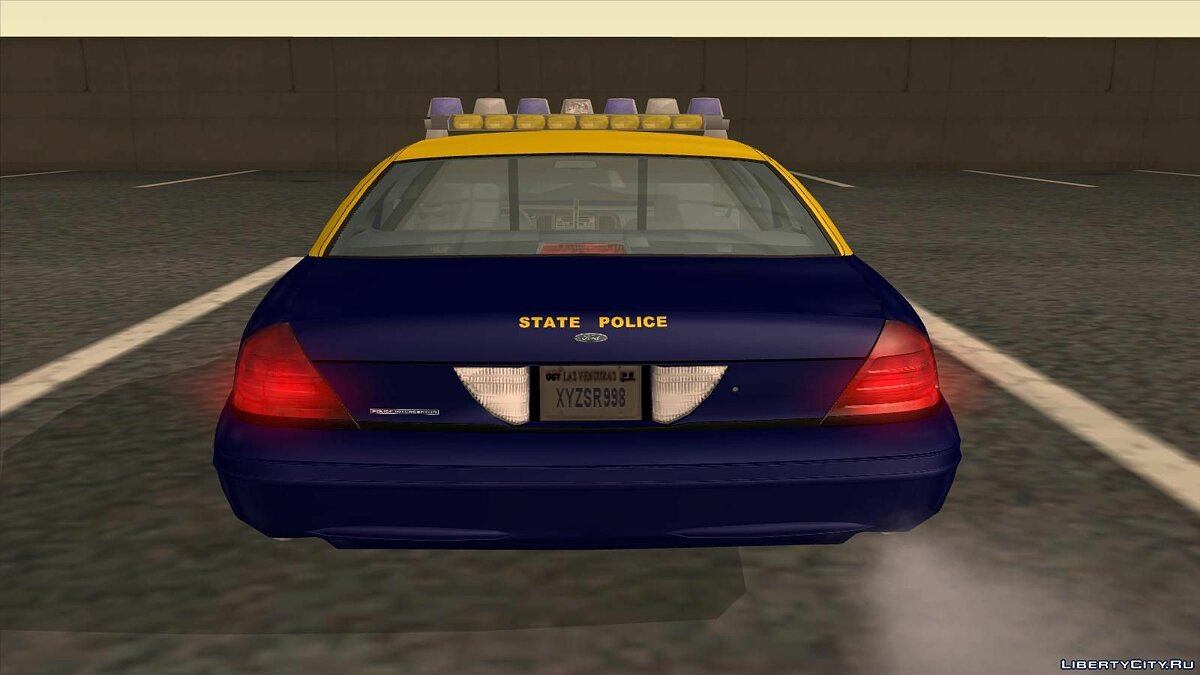 Ford Crown Victoria West Virginia Police для GTA San Andreas