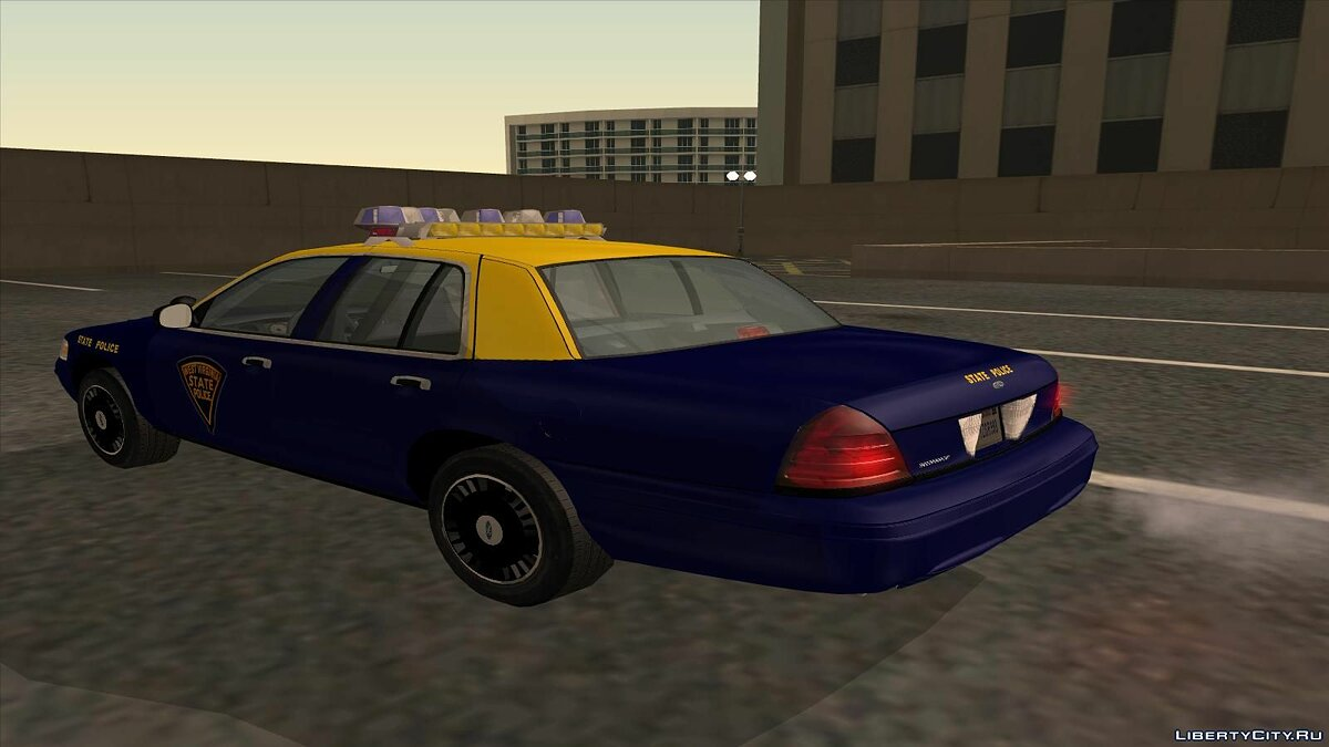 Ford Crown Victoria West Virginia Police для GTA San Andreas - скриншот #3