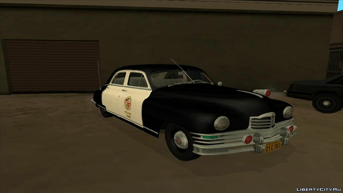 1948 Packard Standard Eight touring sedan police для GTA San Andreas