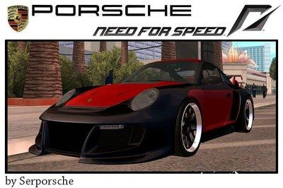 porsche 911 gt2 undercover v 2 0 gta san andreas. Black Bedroom Furniture Sets. Home Design Ideas