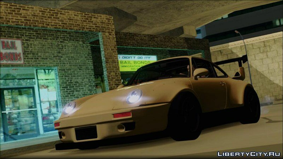 1995 Porsche 911 GT2 Widebody (NFS2015) для GTA San Andreas - скриншот #2