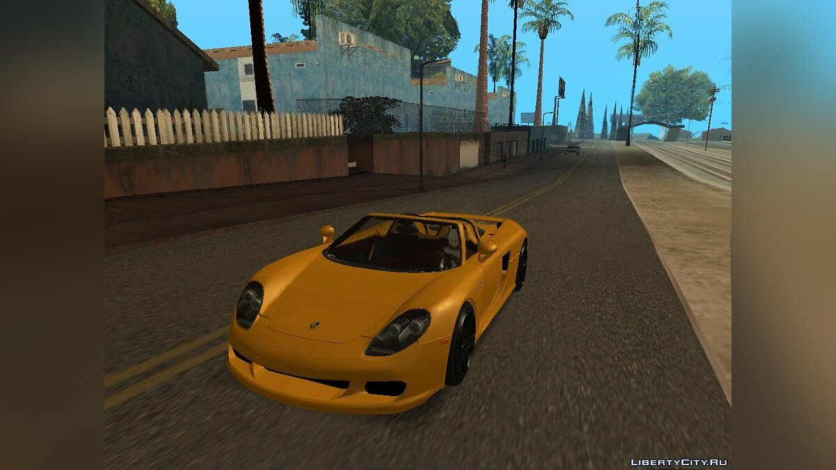 Porsche Carrera GT TT Black Revel для GTA San Andreas