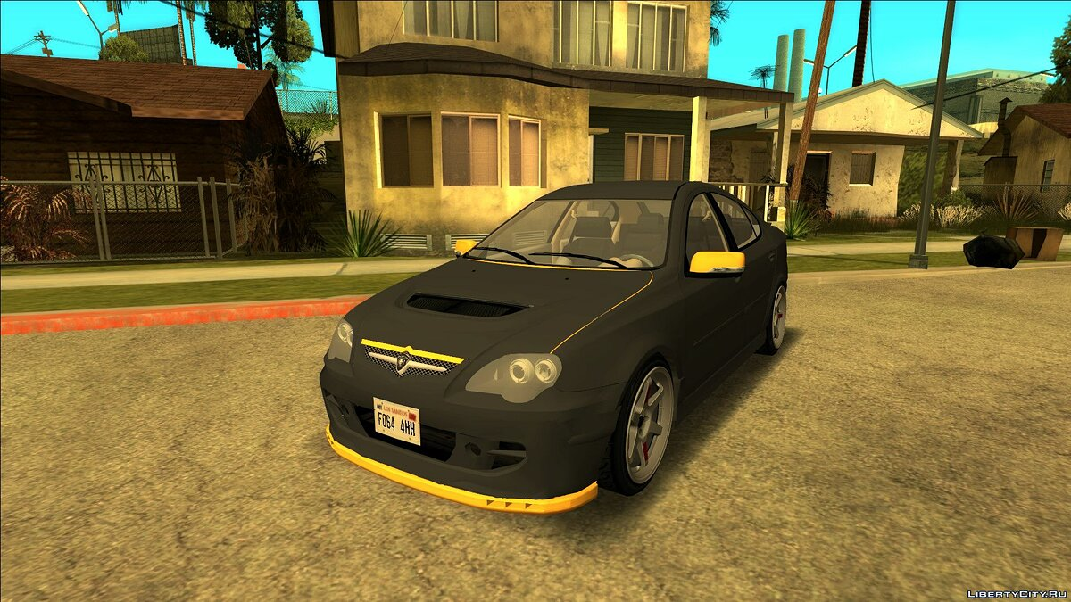 Машина Proton Proton Persona Black Yellow для GTA San Andreas