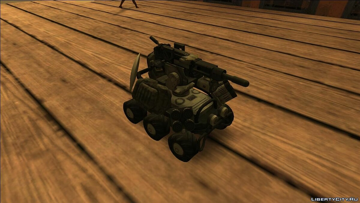 Машина Mobile Turret From Titan Fall для GTA San Andreas