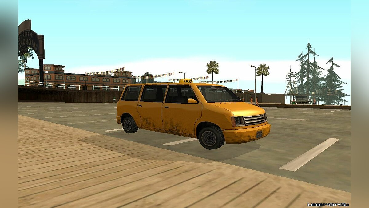 Moonbeam Cab для GTA San Andreas