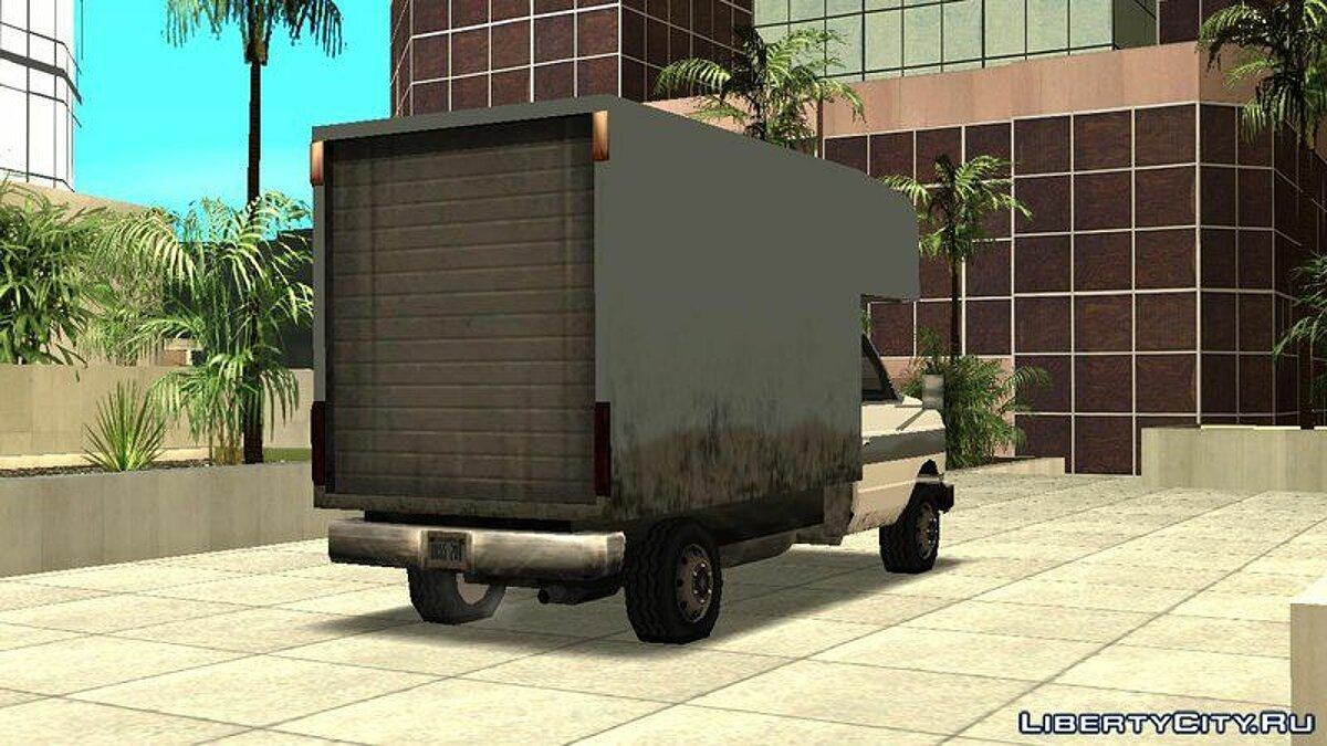 Steed Light Van для GTA San Andreas - скриншот #2
