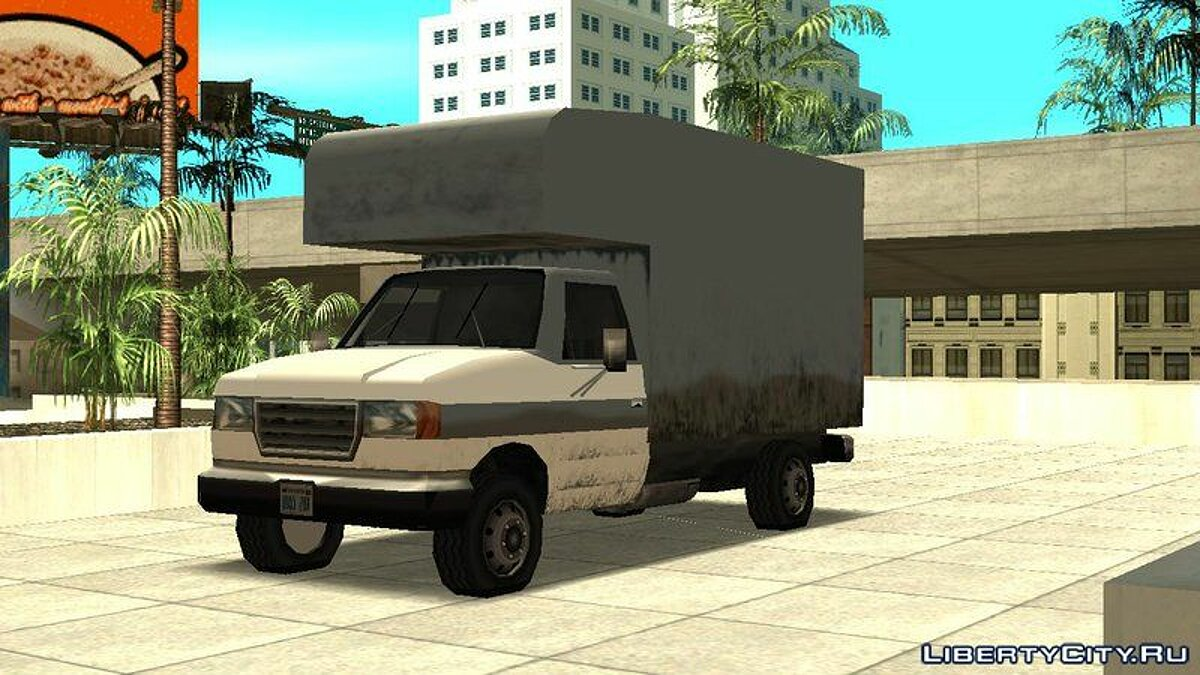 Steed Light Van для GTA San Andreas