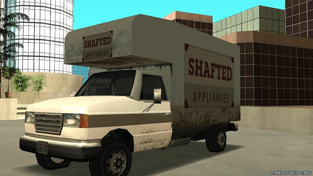 Steed Light Van для GTA San Andreas - скриншот #3