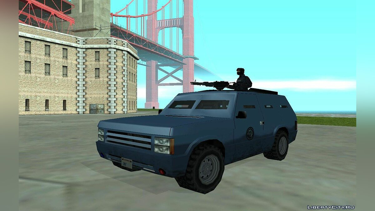 Машина Armored SWAT Huntley для GTA San Andreas