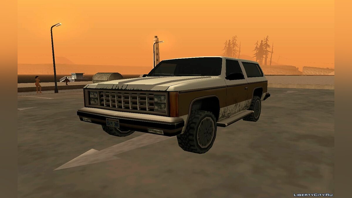 New Rancher Restyled для GTA San Andreas