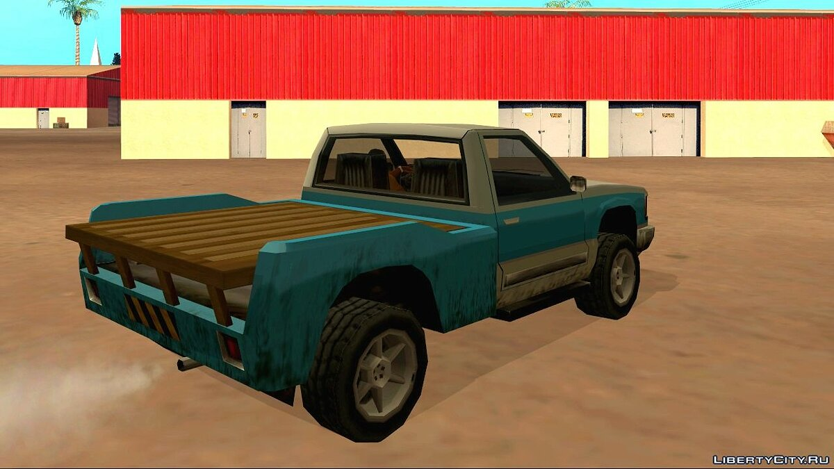 ��ашина Yosemite Lite (Wooden Trunk) для GTA San Andreas