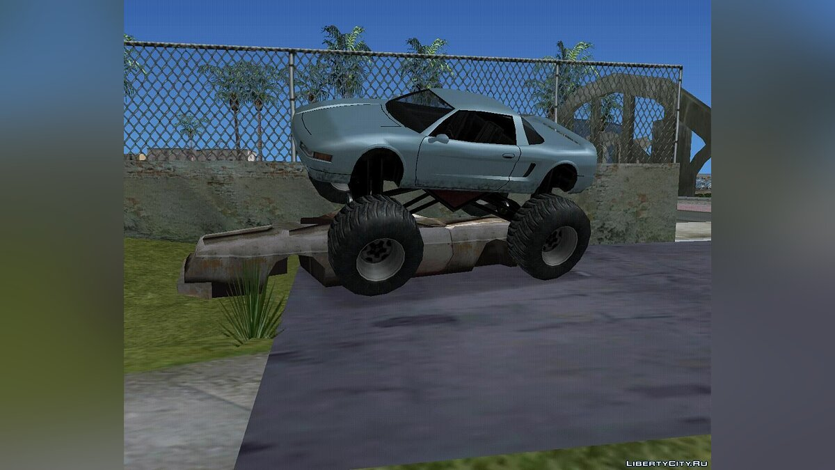 Infernus Monster Truck для GTA San Andreas