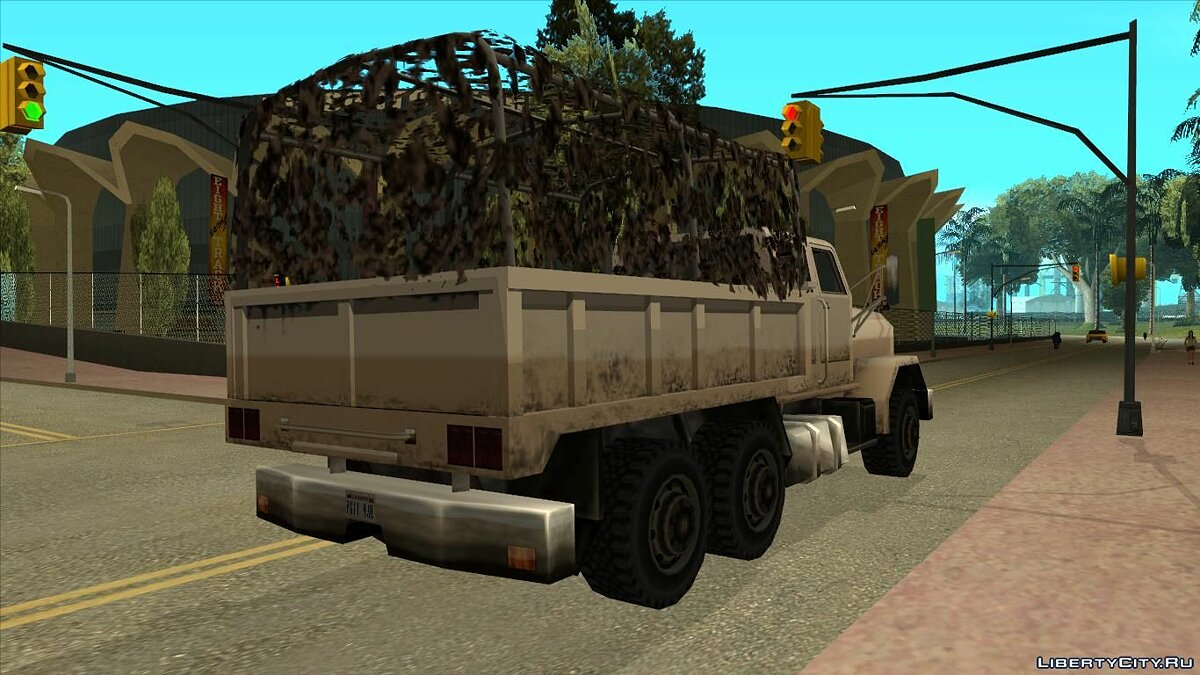 Машина Barracks Four Door для GTA San Andreas