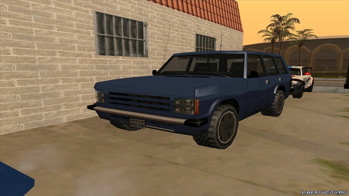 Police Unmarked Huntley для GTA San Andreas