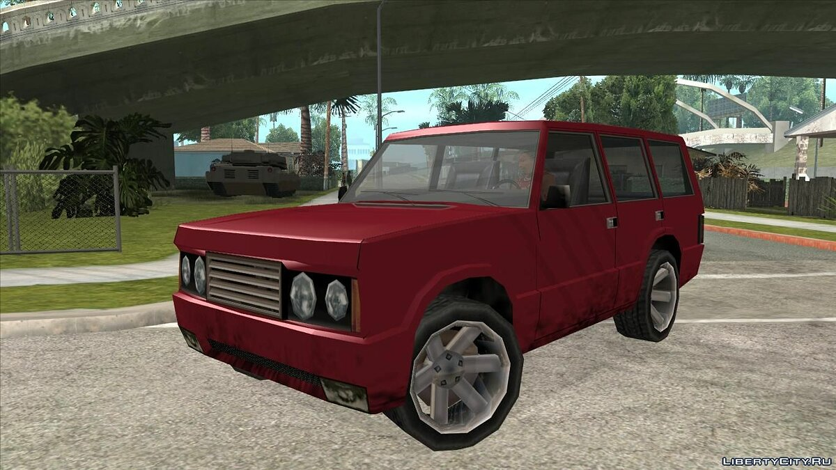 Машина Huntley XL Armada DUB для GTA San Andreas