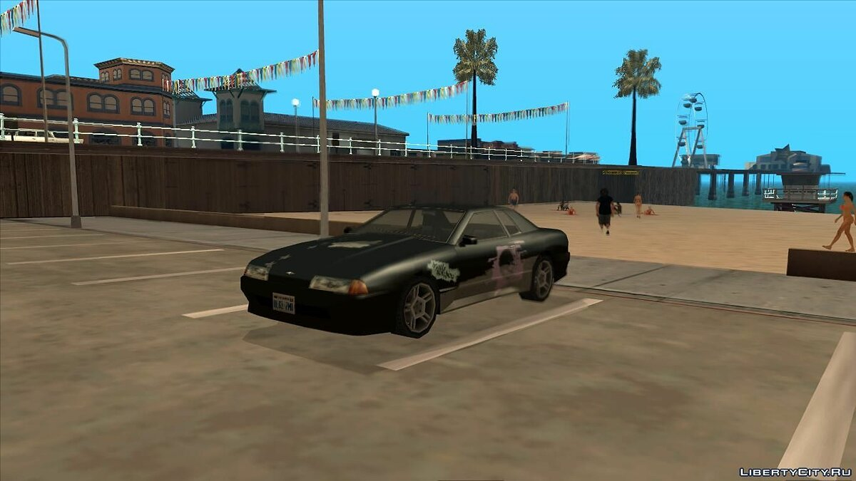"Винил ""Battle Machine"" из Need For Speed ProStreet для GTA San Andreas"