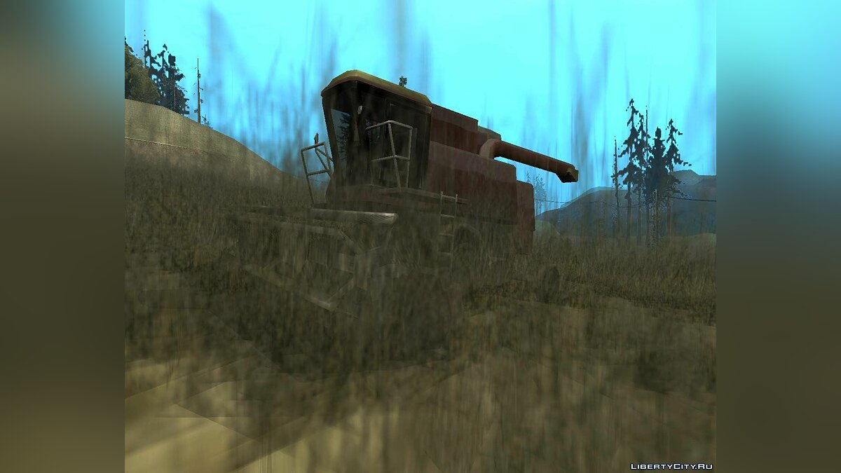 Enterable Combine Harvester для GTA San Andreas