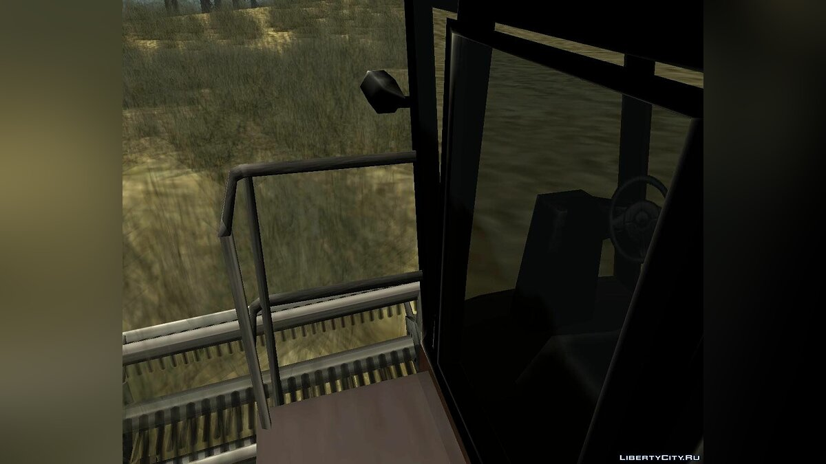 Enterable Combine Harvester для GTA San Andreas - скриншот #6