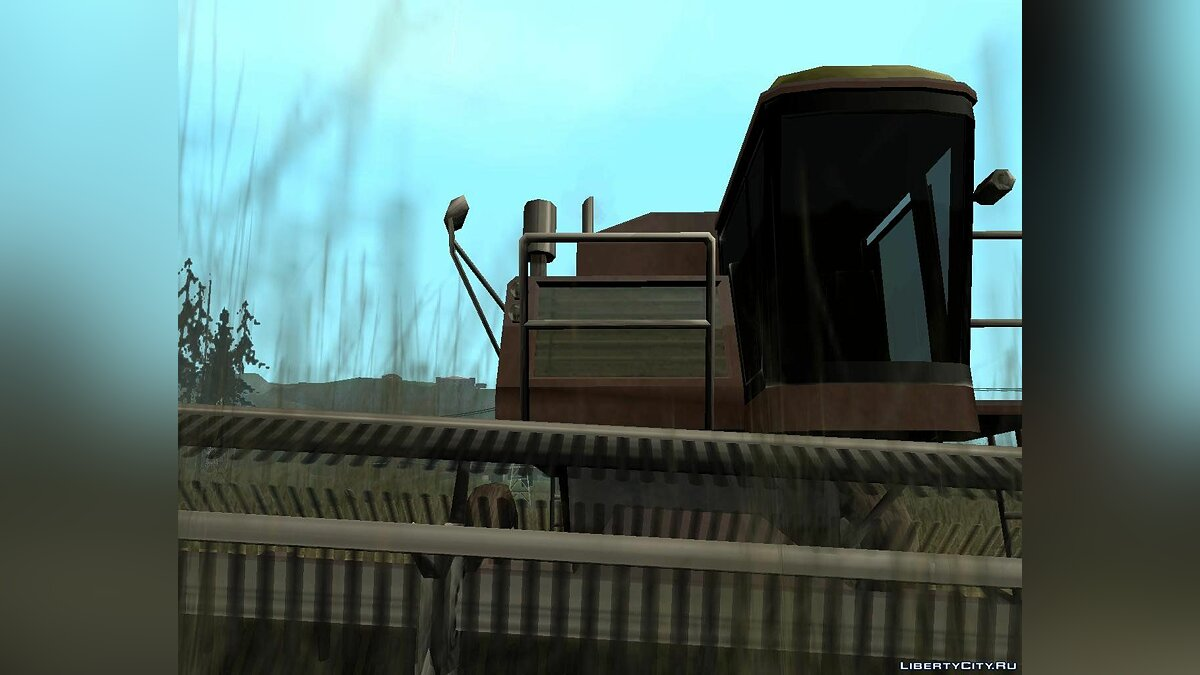 Enterable Combine Harvester для GTA San Andreas - скриншот #4