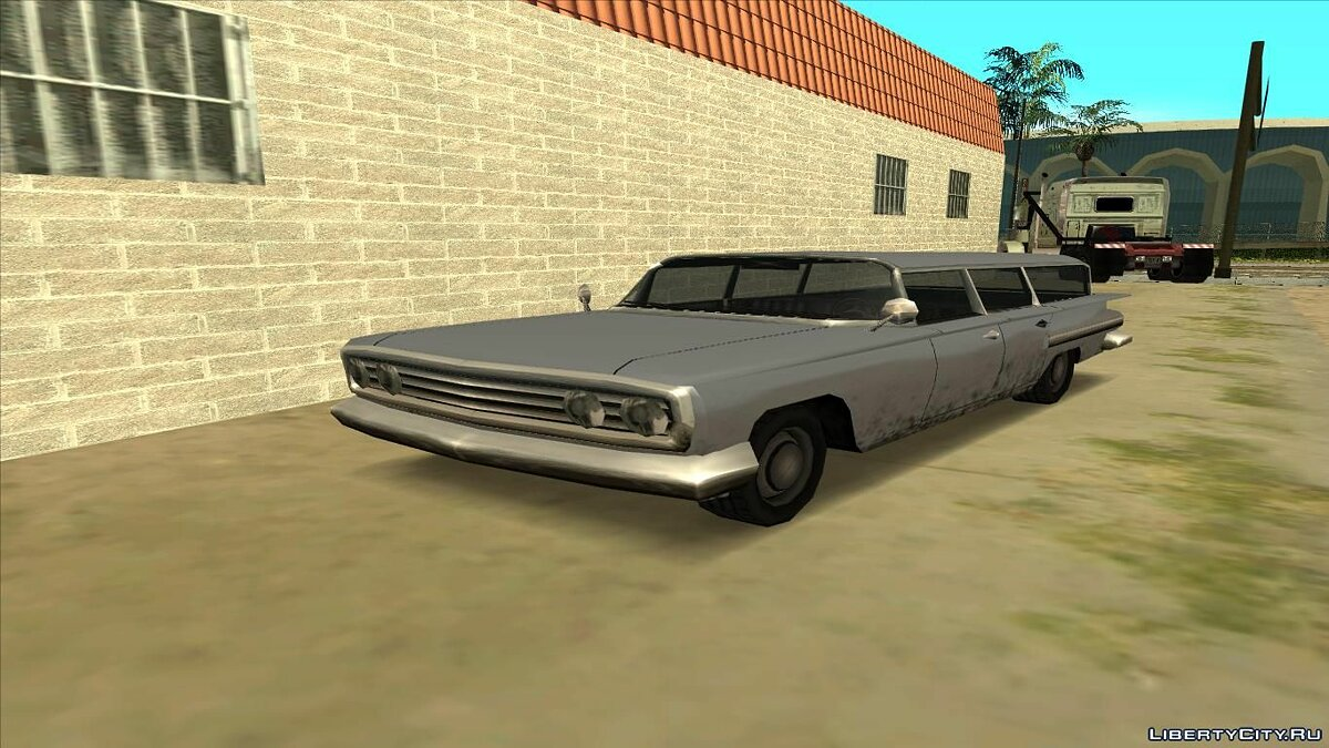 Машина Voodoo Station Wagon для GTA San Andreas