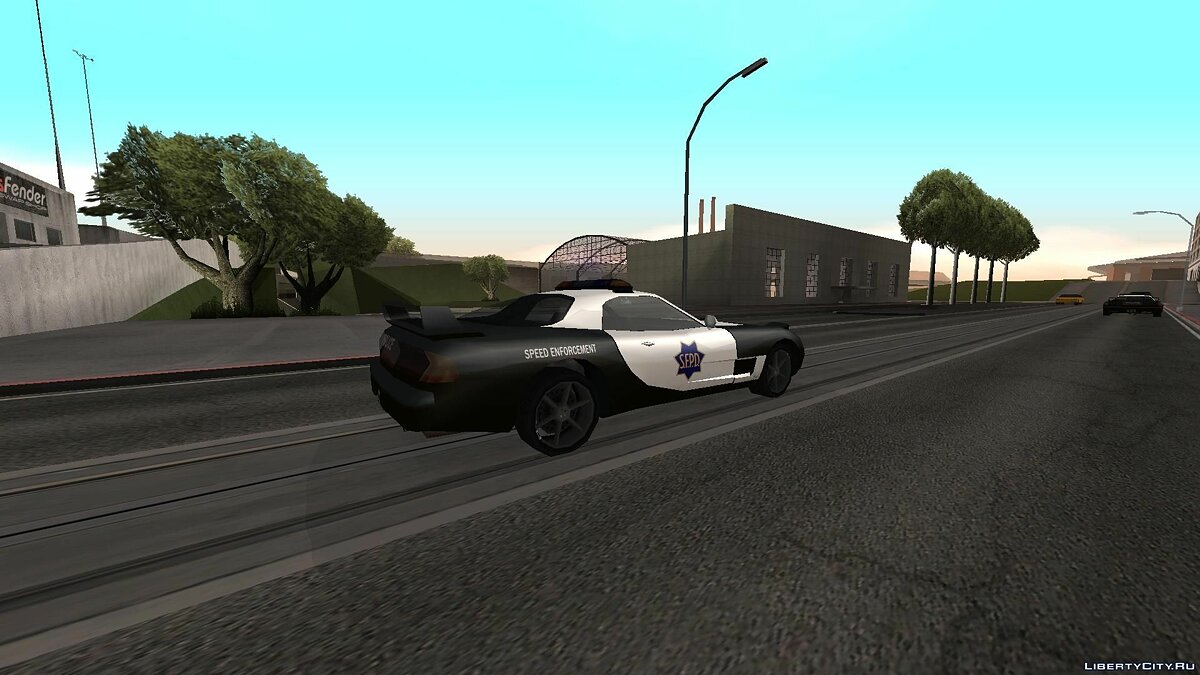 ZR350 and Sultan Police v 1.1 для GTA San Andreas - скриншот #2