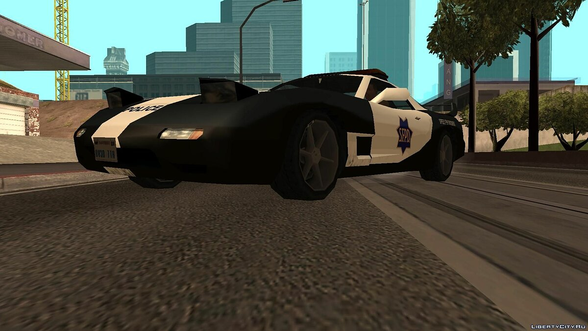 ZR350 and Sultan Police v 1.1 для GTA San Andreas - скриншот #7