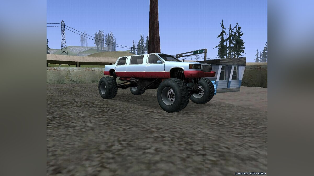 Stretch Monster Truck для GTA San Andreas